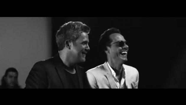 Ni te imaginas cuánto tardaron Alejandro Sanz y Marc Anthony en realizar 'Deja que te bese'