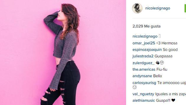 Nicole Zignago, hija de GianMarco, se destapa en redes sociales