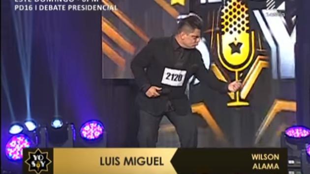 Otro 'Luis Miguel' se presentó en 'Yo soy' y mira lo que pasó...