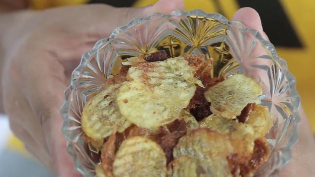 Papas fritas en el microondas en 5 minutos