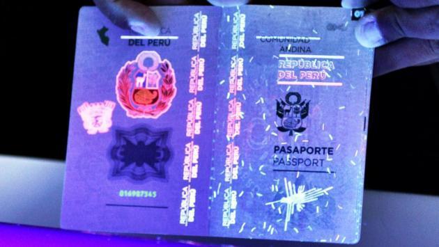 Pasaportes electrónicos podrán ser tramitados en el Callao