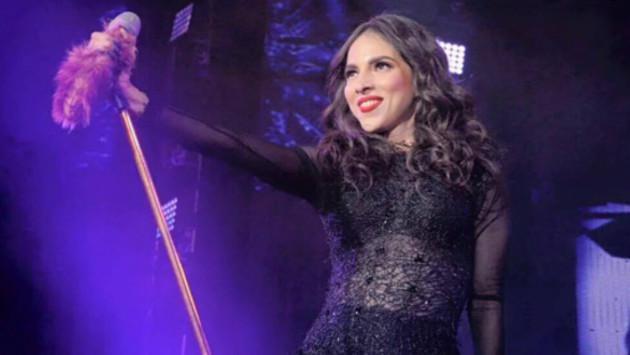 ¡Paty Cantú llegó a Lima para ofrecer concierto!