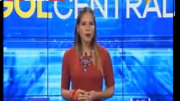 Periodista pensó que no la enfocaban y realizó un peculiar baile en vivo