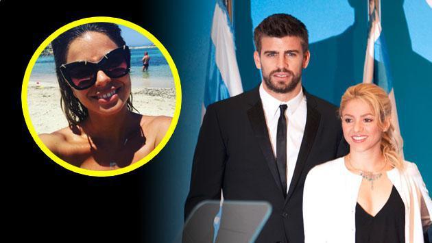 La exnovia de Piqué admite que baila los temas de Shakira
