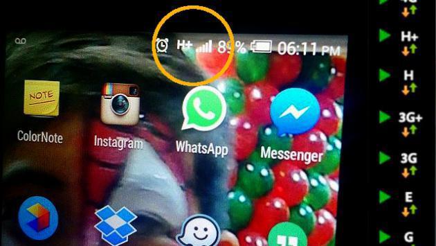 ¿Qué significan la E, H, H+, 3G y 4G en tu celular?