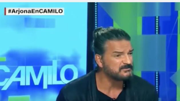 Ricardo Arjona abandonó entrevista en vivo