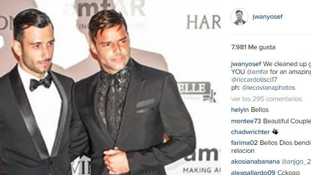 Ricky Martin presentó a su nueva pareja