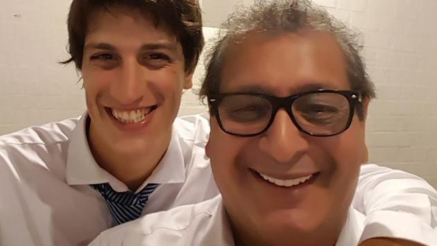 Hijo de Ricky Tosso agradece apoyo con emotivo mensaje