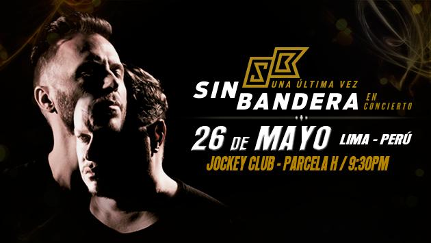 Ritmo Romántica te lleva al concierto de Sin Bandera en Lima (Ganadores)