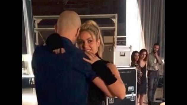 Shakira baila bachata para el videoclip de 'Deja Vu!' con Prince Royce [VIDEO]