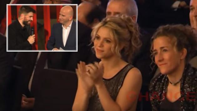 Shakira consuela el llanto de Gerard Piqué