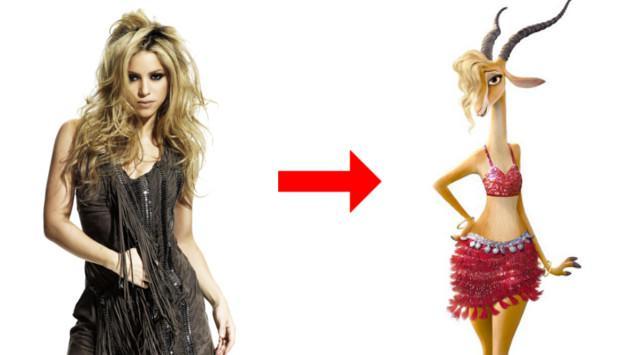 Shakira estrenó tema para Zootopia, la nueva película de Disney