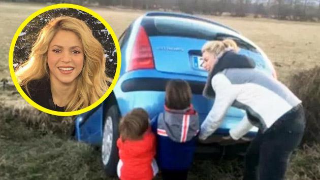 ¿Shakira sufrió accidente de auto? Esta es la verdad de la foto