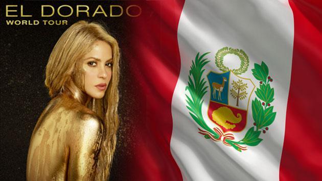 ¡Shakira vuelve a Perú para El Dorado World Tour!