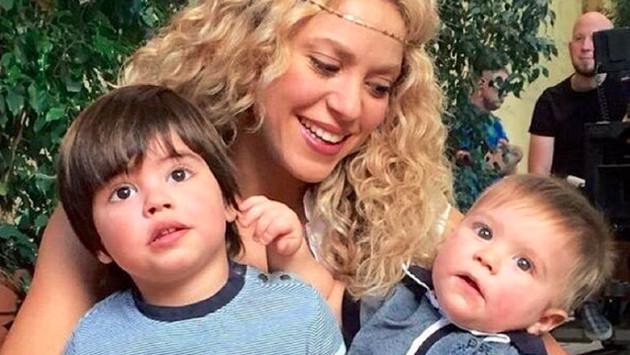 Shakira y Gerard Piqué celebran el primer cumpleaños se Sasha