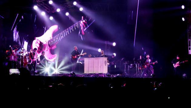 Sin Bandera arrasó Lima con un concierto espectacular
