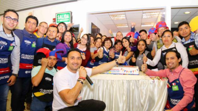 Sodimac Homecenter está de aniversario y lo celebra en todo el Perú
