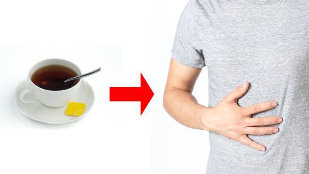 Té de cedrón para aliviar problemas digestivos