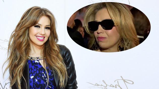 Thalía enfureció por desaparición de su video