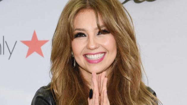 Thalía le dijo adiós a los tacones