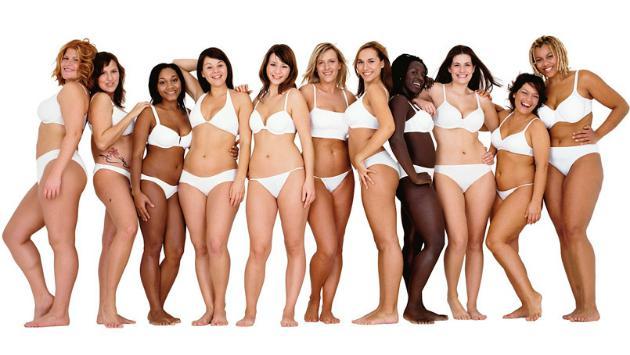 Cinco tipos de mujeres bellas según los hombres