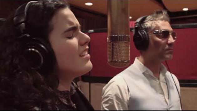 Alejandro Fernández y su hija Camila presentan su primer video juntos