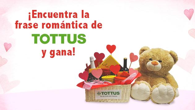 Tottus sortea 03 canastas de San Valentín este 10 de Febrero de 2016
