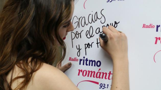 Ventino llegó a Lima y visitó la cabina de Ritmo Romántica