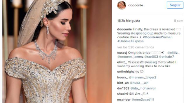 Vestido de novia que tardó un año en estar listo causa furor en redes sociales