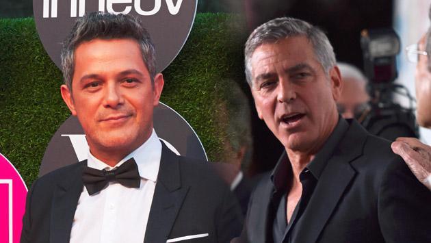¿Ya viste a Alejandro Sanz con su nuevo look a lo George Clooney? [VIDEO]