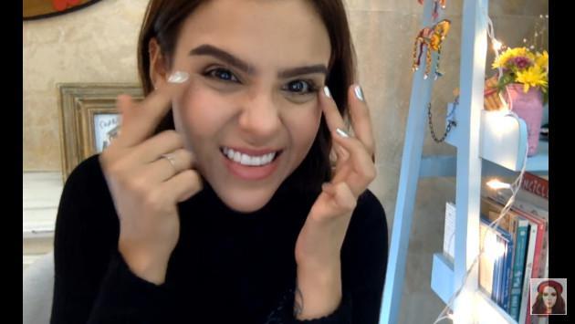 ¡Yuya te enseña a quitarte las ojeras en segundos! (VIDEO)