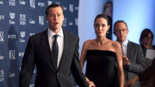 Brad Pitt y Angelina Jolie aparecen en foto discutiendo en plena calle