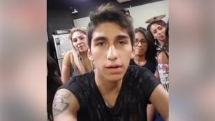Daniel Lazo en su primer día como profesor de canto [VIDEOS]