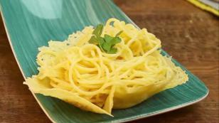 Deliciosa y sencilla pasta parmesana