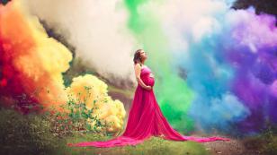 Después de 6 abortos involuntarios, celebró su embarazo de esta forma y se volvió viral de Facebook