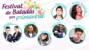 ¡Disfruta de un 'Festival de Baladas por Primavera' completamente gratis!