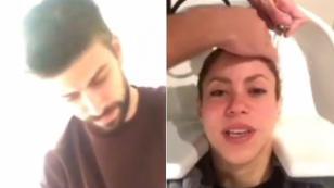 Gerard Piqué no solo es pareja de Shakira, también es su peluquero [VIDEO]