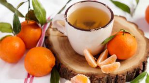 Infusión de cáscaras de mandarina para prevenir el cáncer