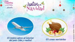 Juntos en Navidad: Gana un viaje al interior del país o una de las 5 cenas navideñas que tenemos para ti
