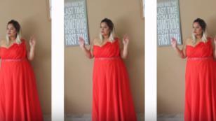 Tips para elegir vestidos de fiesta para gorditas