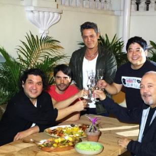 Alejandro Sanz cenó con Gastón Acurio