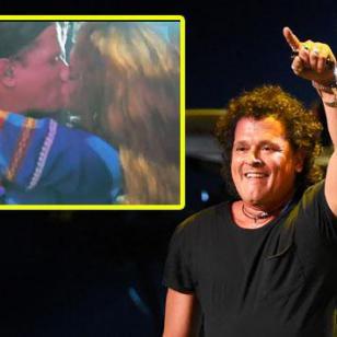 Carlos Vives habla tras el beso que le dio fan durante concierto