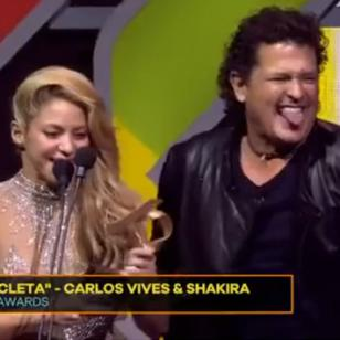 Con esto, Shakira y Carlos Vives ya limaron asperezas [VIDEO]