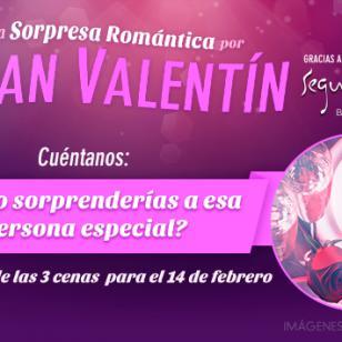 Gana una de las 3 cenas románticas por 'San Valentín' que tenemos para ti