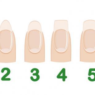 La forma de tus uñas revela tu personalidad