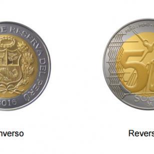 Lanzan nueva moneda de cinco soles 2016