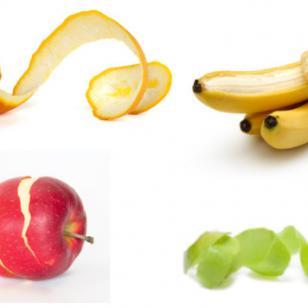 Los milagros de las cáscaras de frutas