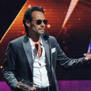 Marc Anthony  se llevó 3 premios en los  Premios Billboard 2017