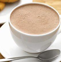 Café con leche súper espumoso.