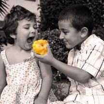 Enséñale a tus hijos a compartir